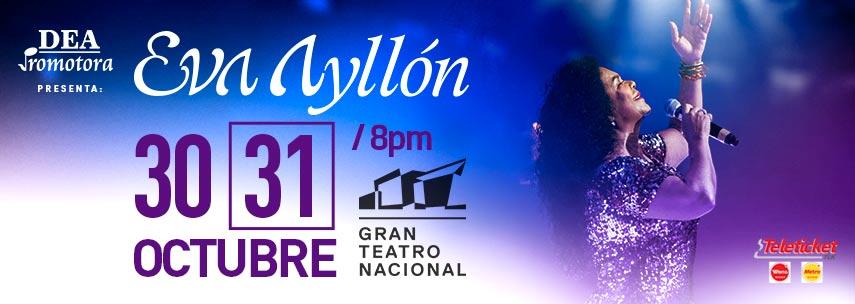 Eva Ayllon Gran Teatro Nacional